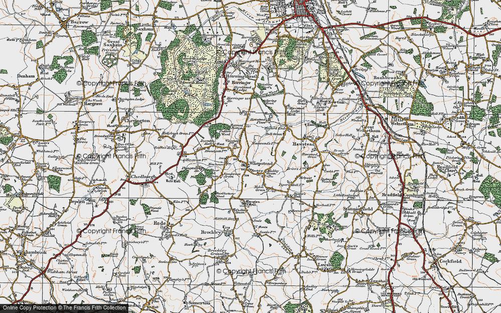 Whepstead, 1921