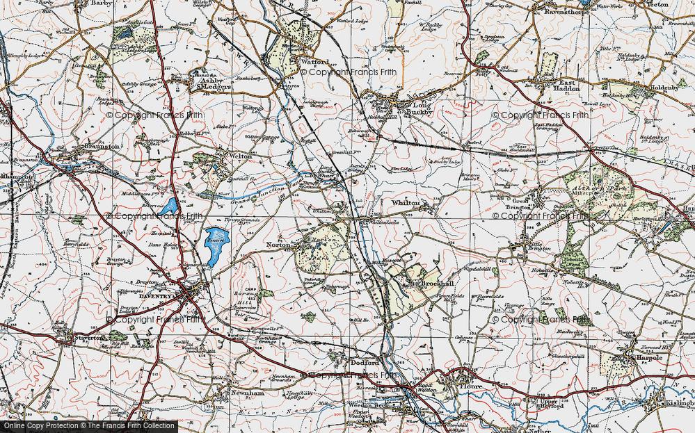 Whilton Locks, 1919
