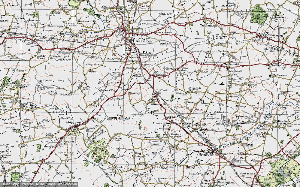 Whinburgh, 1921