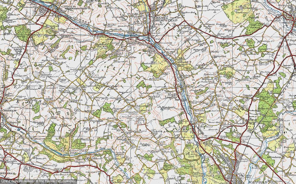 Whippendell Bottom, 1920