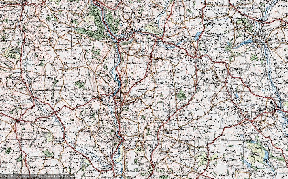 White Moor, 1921