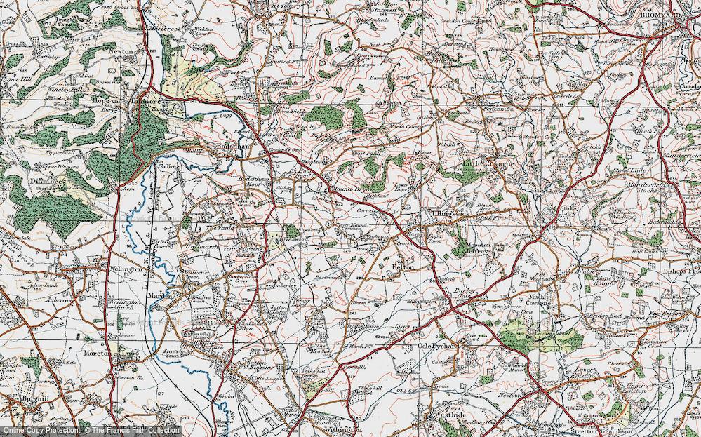 Whitechurch Maund, 1920