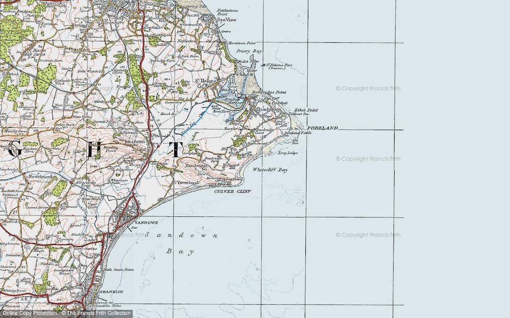 Whitecliff Bay, 1919