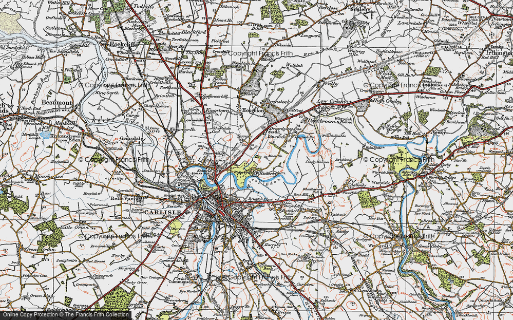 Old Map of Whiteclosegate, 1925 in 1925