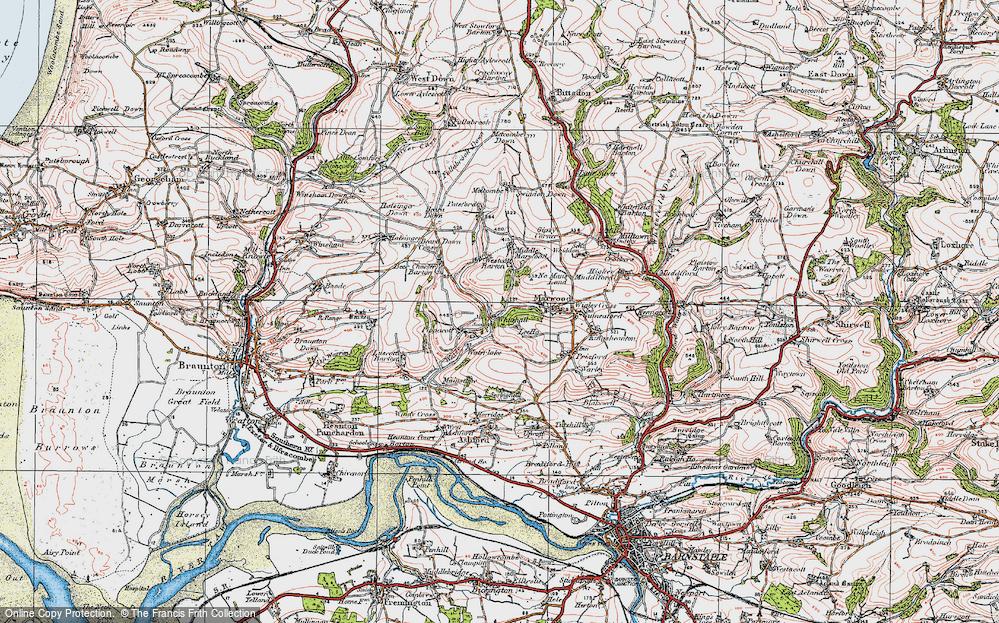 Whitehall, 1919