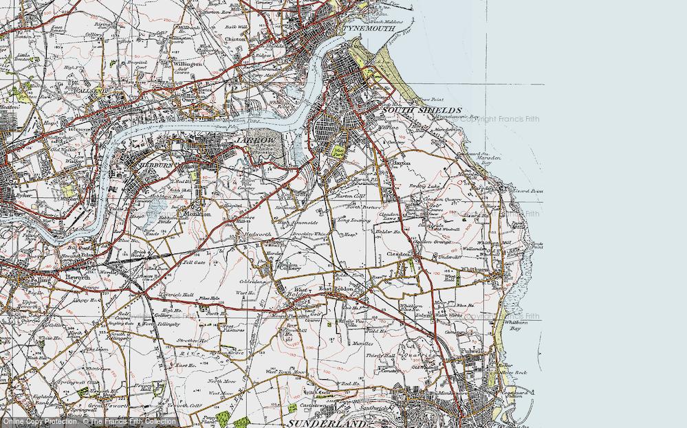 Whiteleas, 1925