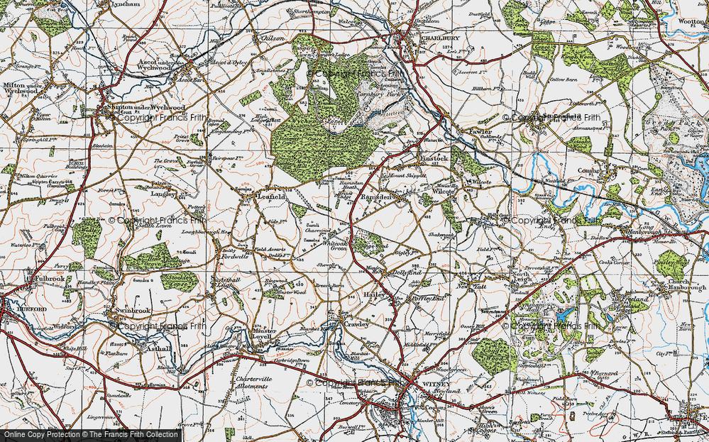 Whiteoak Green, 1919