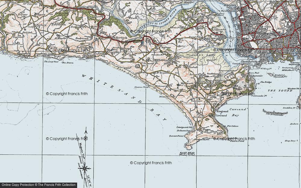 Whitsand Bay, 1919