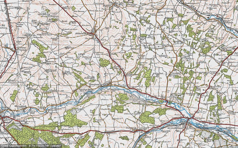 Whittonditch, 1919