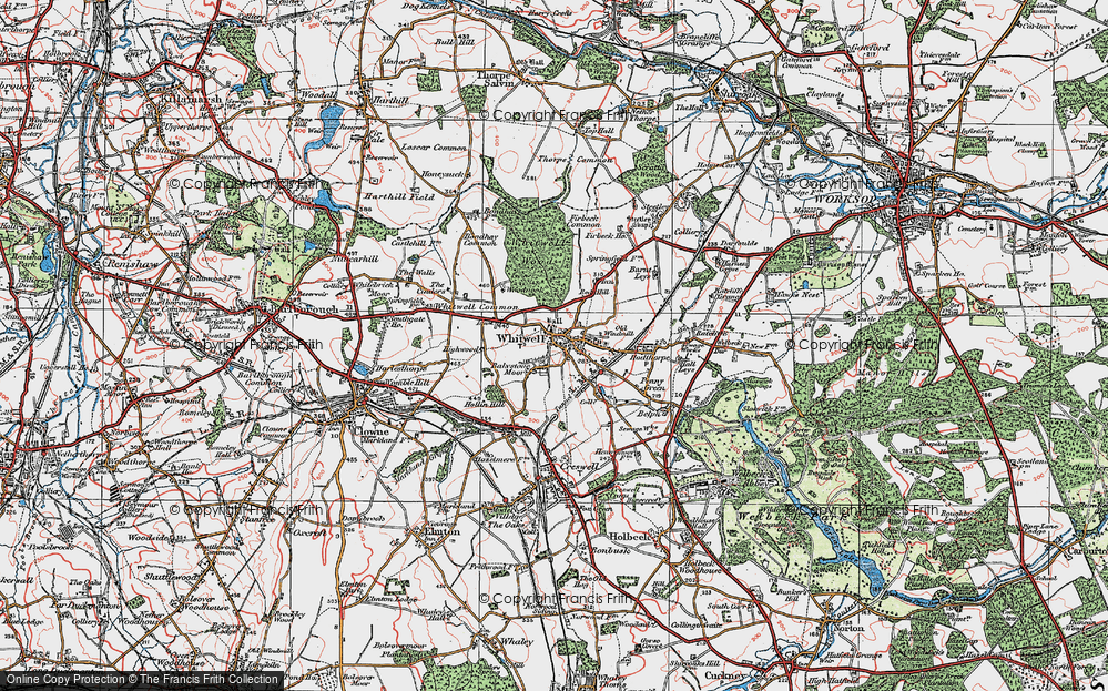 Whitwell, 1923