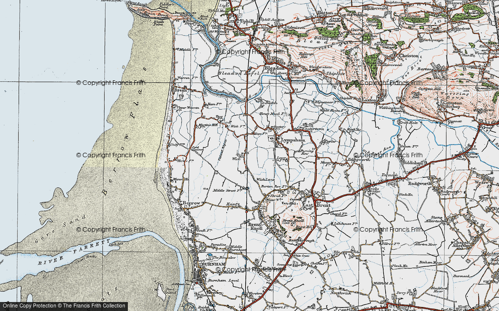 Old Map of Wick, 1919 in 1919