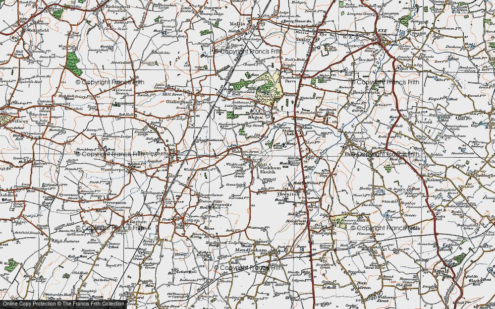Wickham Skeith, 1920