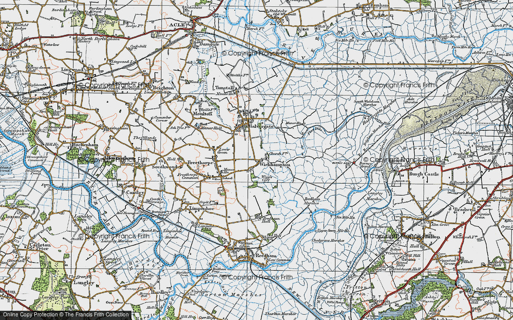 Wickhampton, 1922