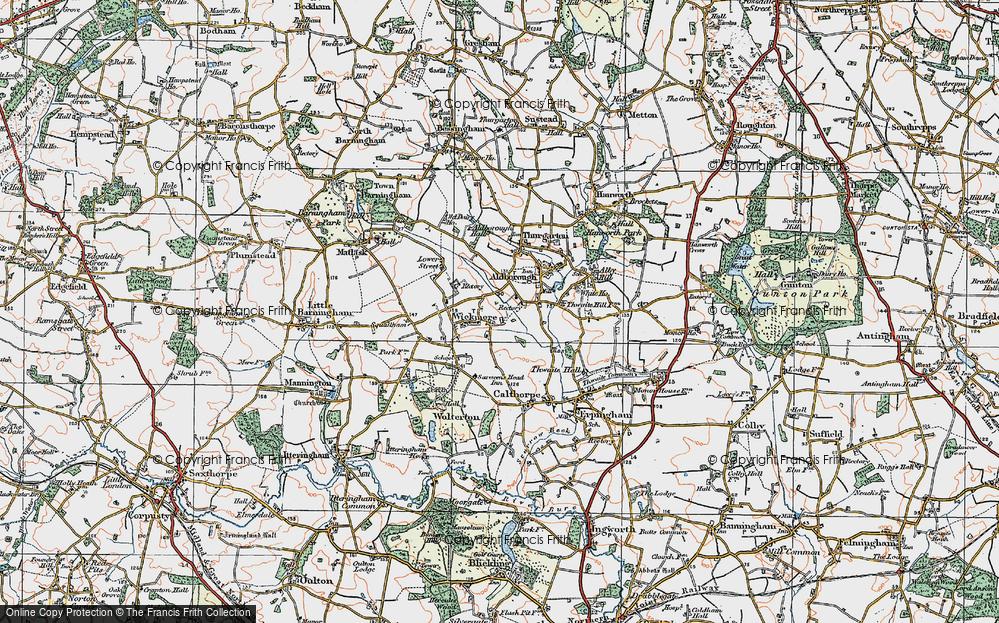 Wickmere, 1922