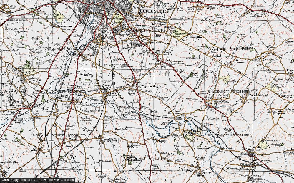 Wigston Magna, 1921