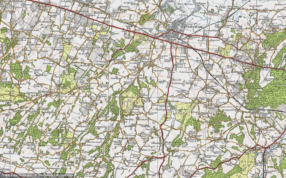 Wilgate Green, 1921