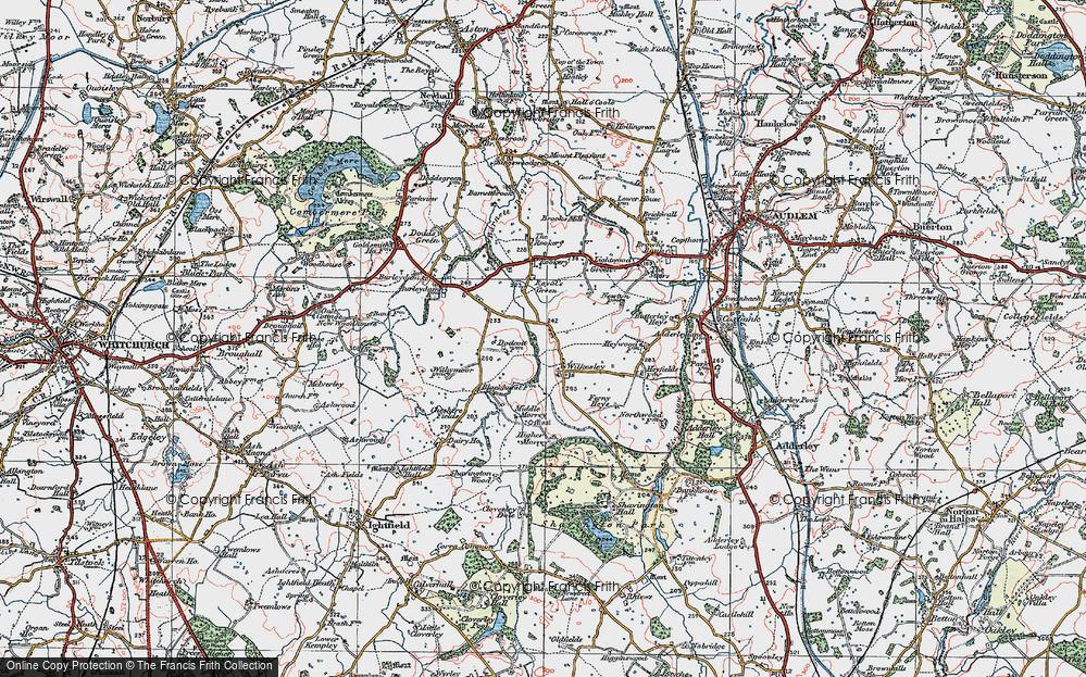 Wilkesley, 1921