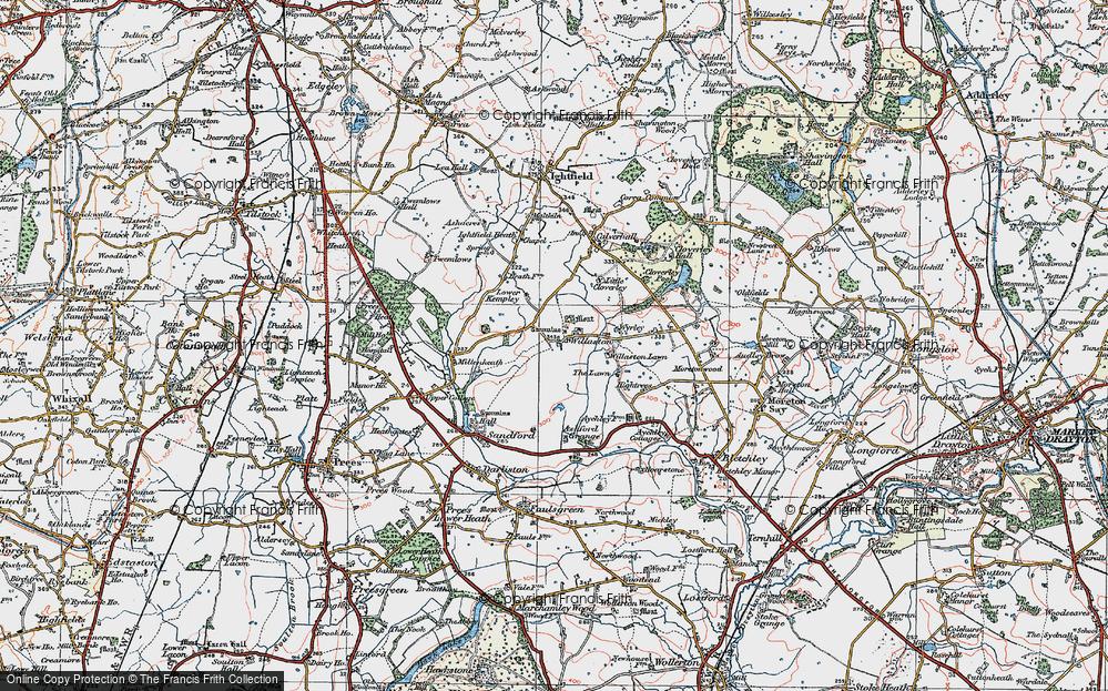 Willaston, 1921
