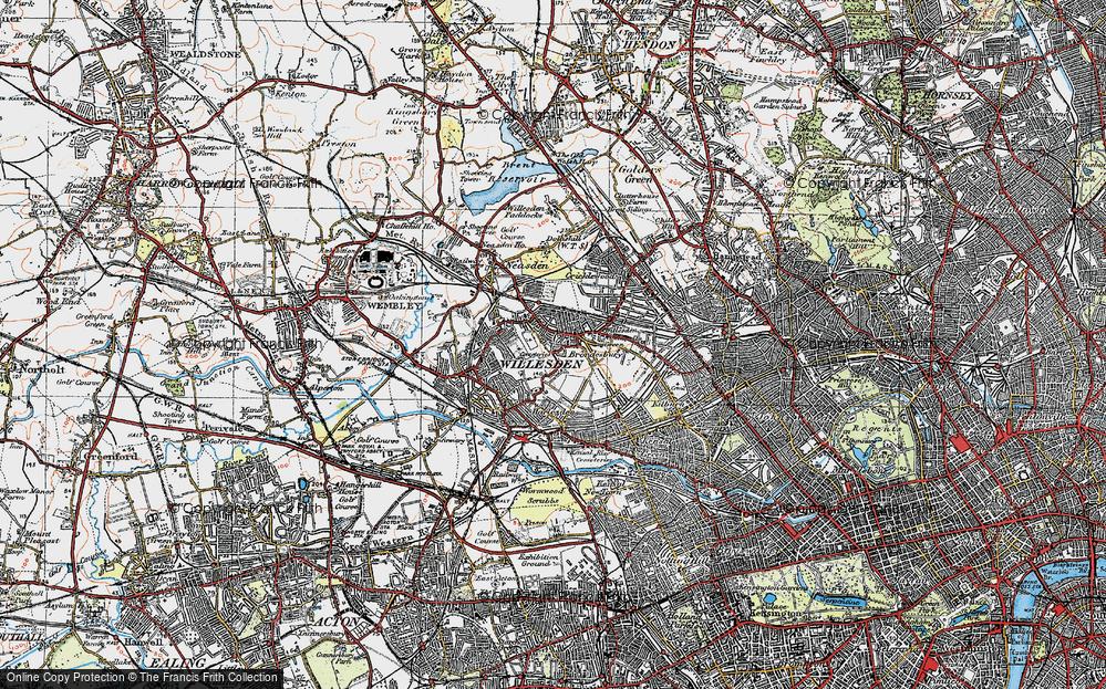 Willesden, 1920
