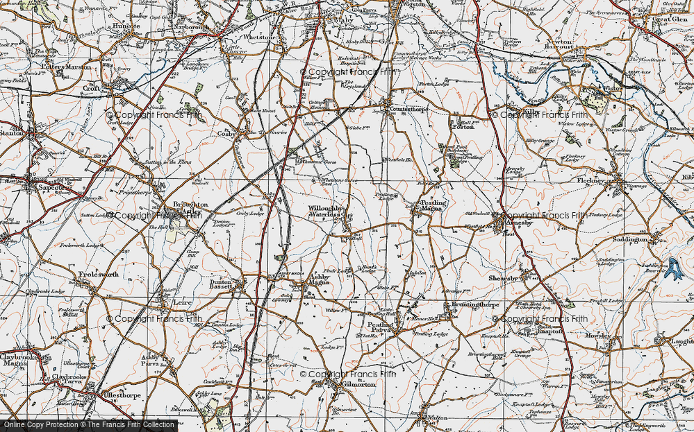 Willoughby Waterleys, 1920