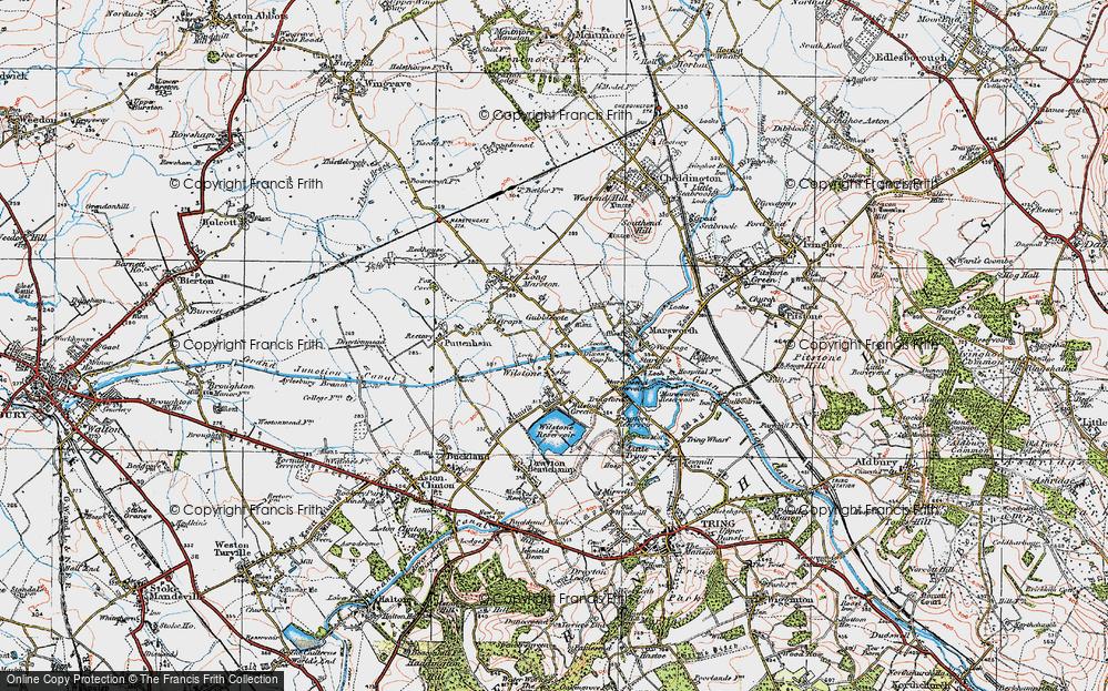 Old Map of Wilstone, 1919 in 1919
