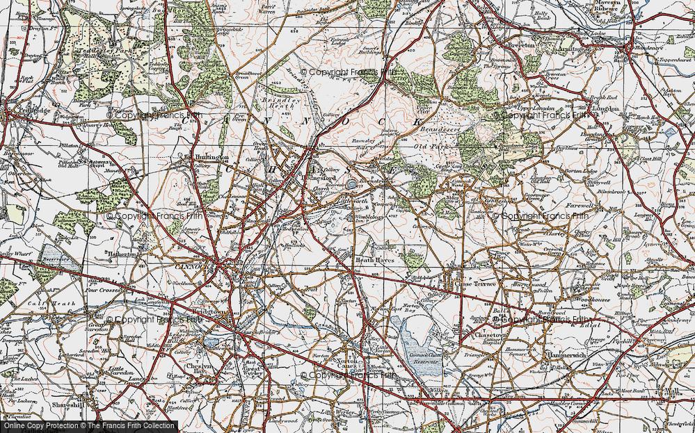 Wimblebury, 1921