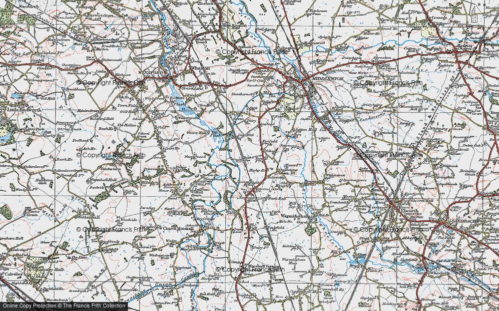 Wimboldsley, 1923