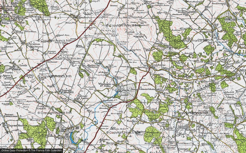 Wimborne St Giles, 1919