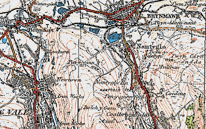Old map of Winchestown in 1919