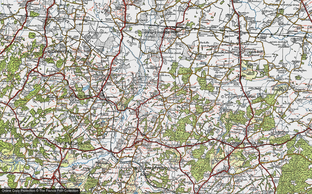 Winchet Hill, 1921