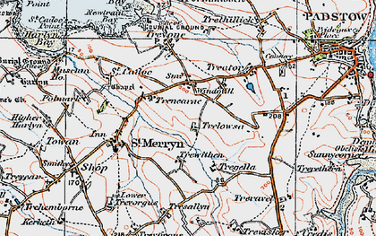 Old map of Windmill in 1919