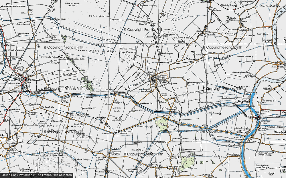 Old Map of Windsor, 1923 in 1923