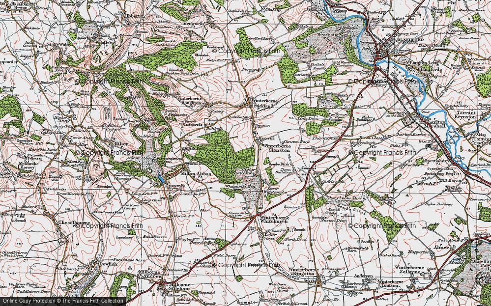 Winterborne Clenston, 1919