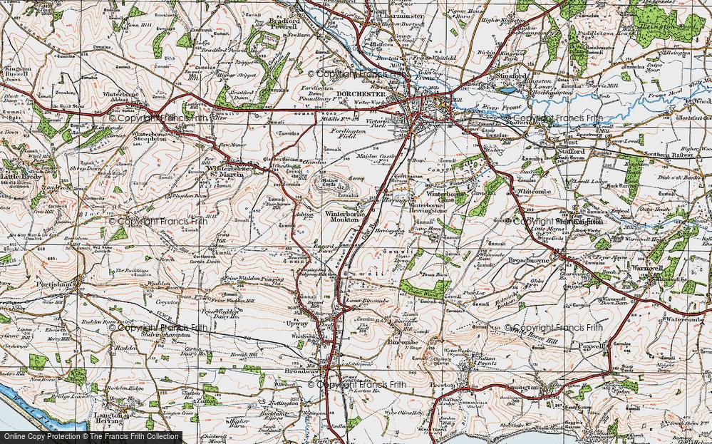 Winterborne Monkton, 1919