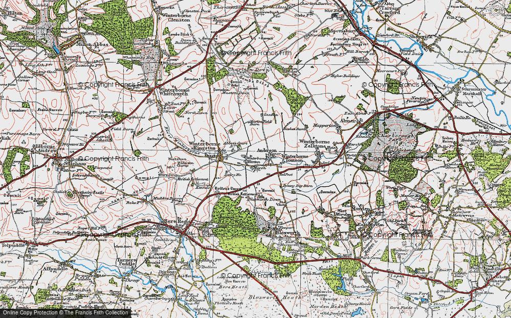 Winterborne Muston, 1919