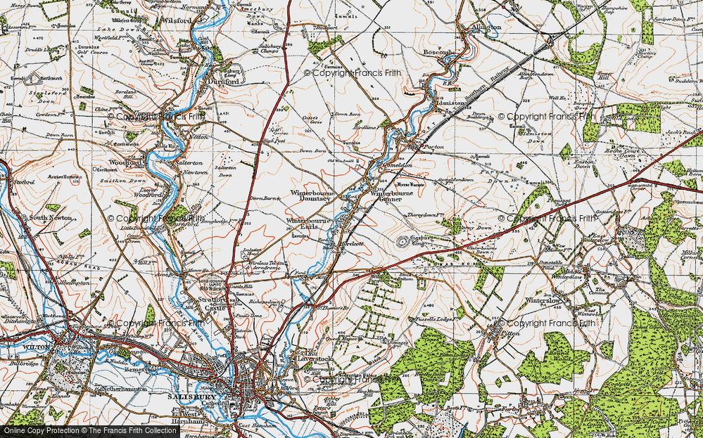 Winterbourne Dauntsey, 1919