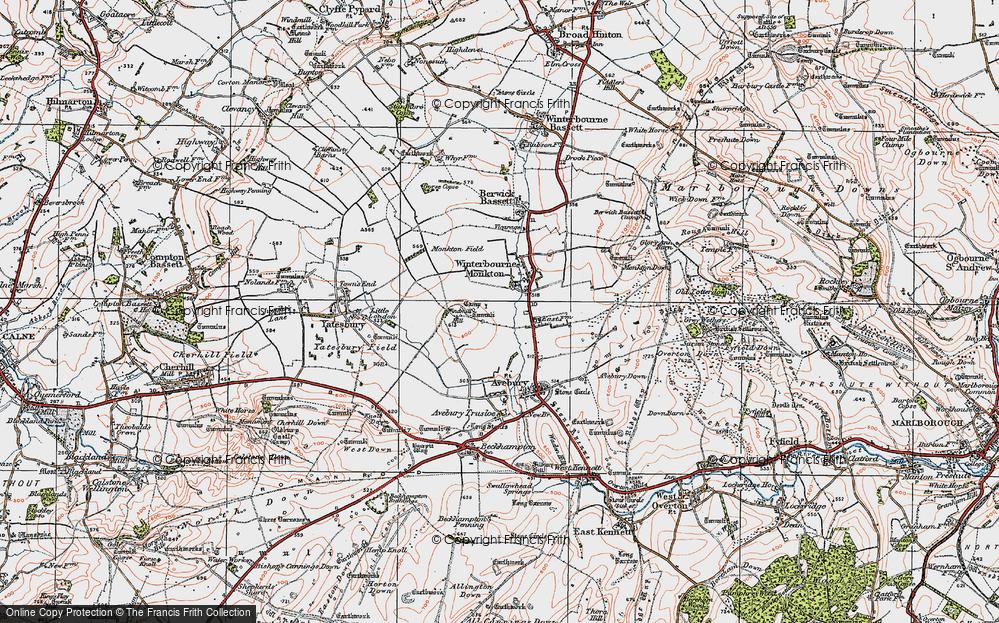 Winterbourne Monkton, 1919