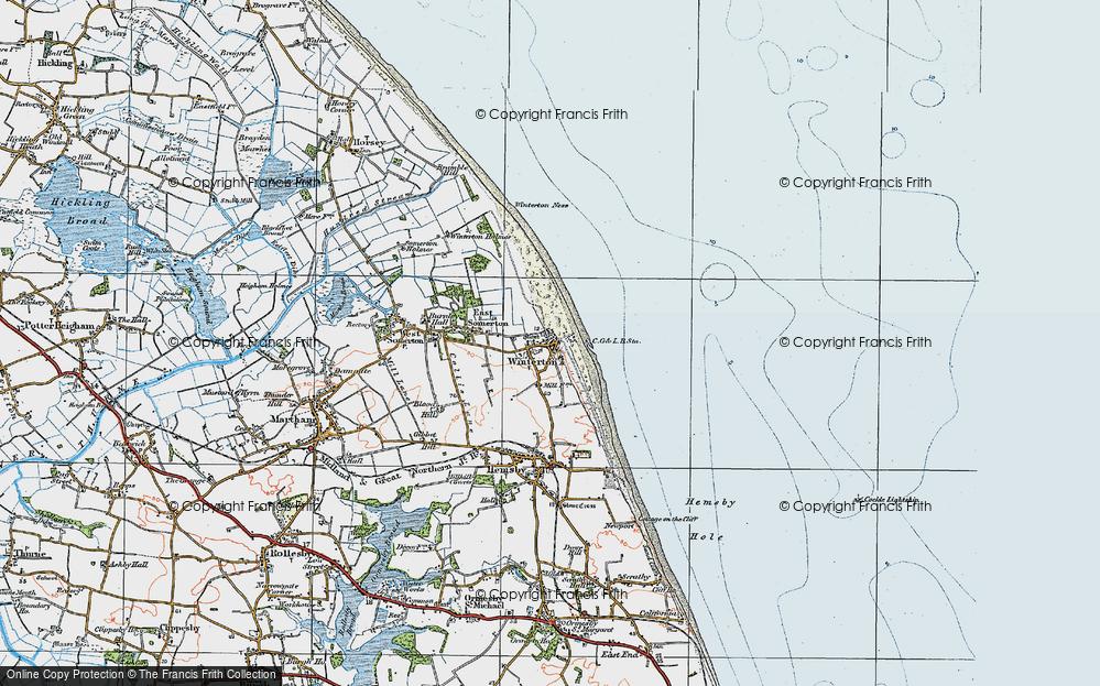Winterton-on-Sea, 1922