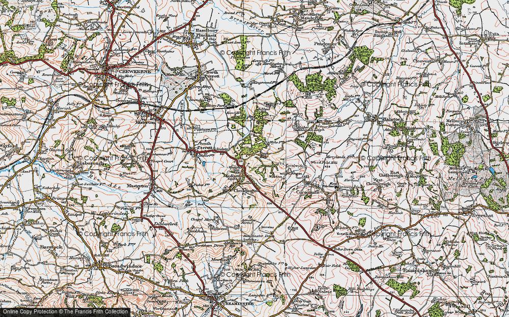 Winyard's Gap, 1919