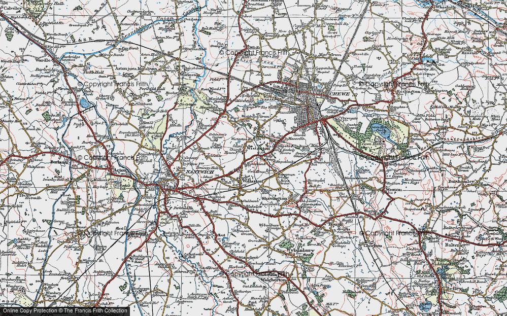 Wistaston, 1921