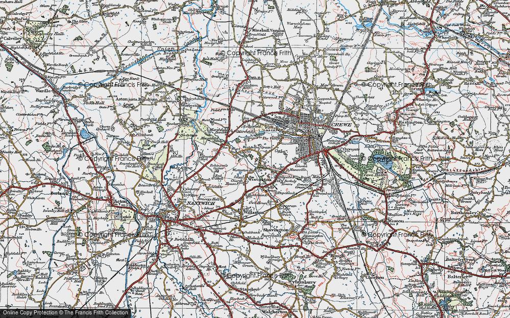 Wistaston Green, 1923