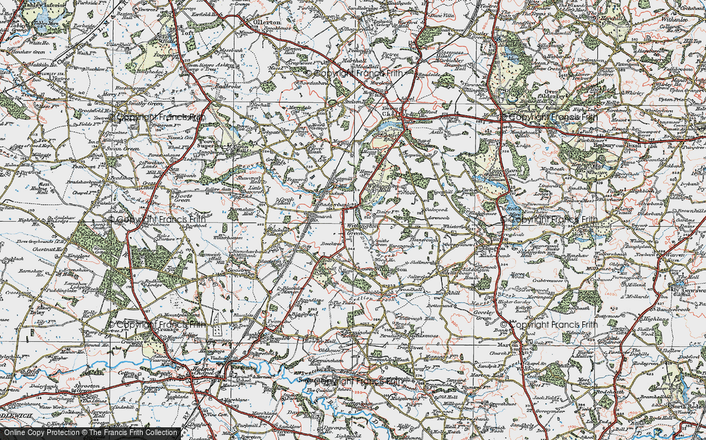 Withington Green, 1923