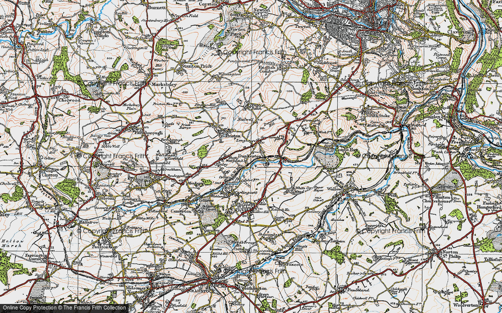 Old Map of Withyditch, 1919 in 1919