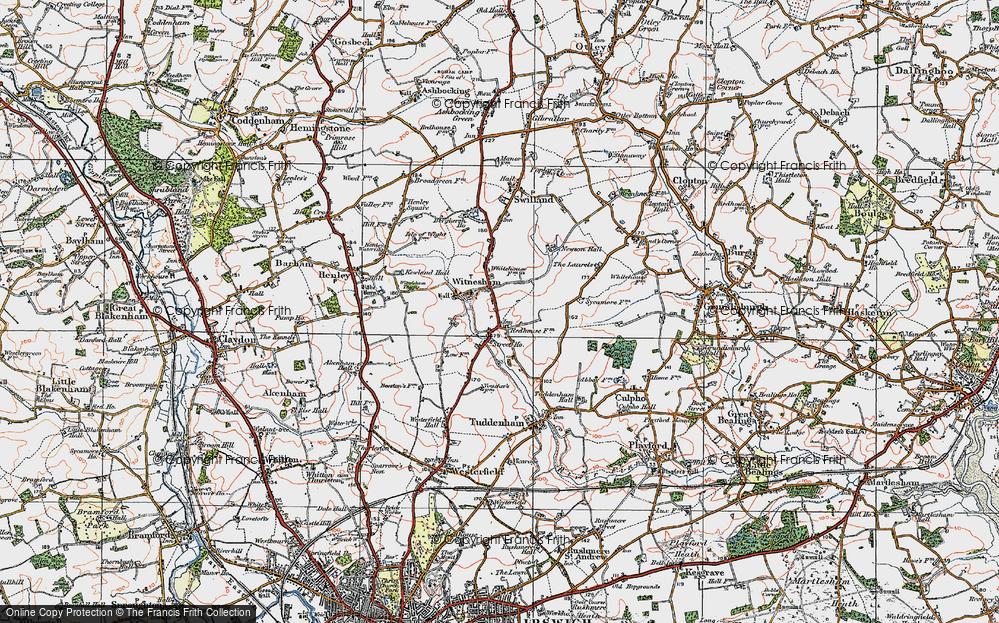 Witnesham, 1921