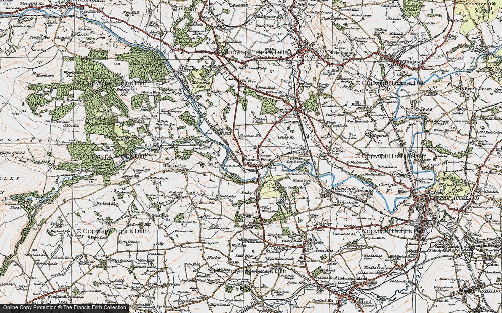 Witton-le-Wear, 1925
