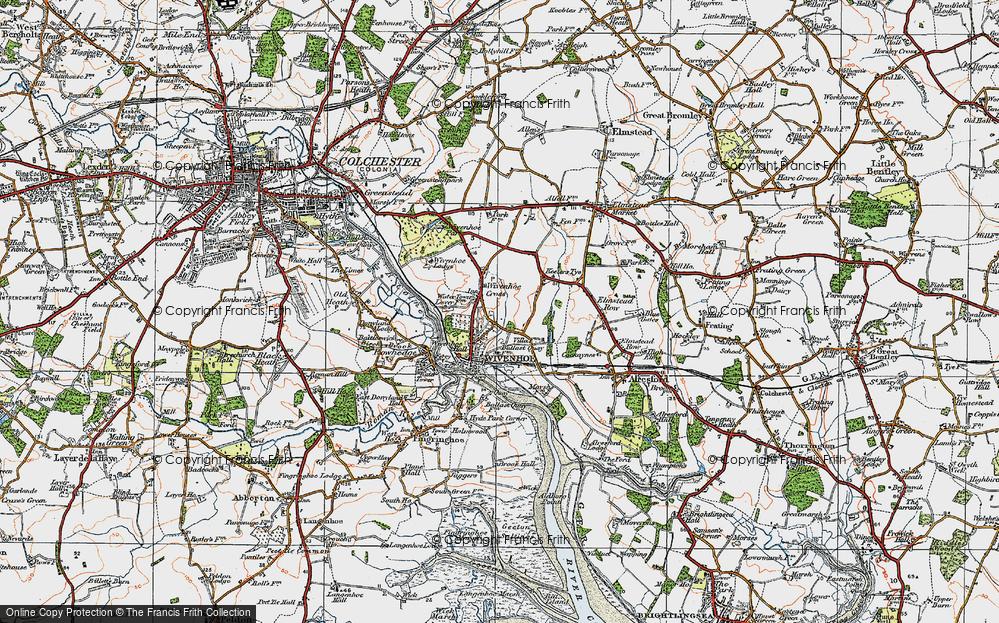 Wivenhoe, 1921