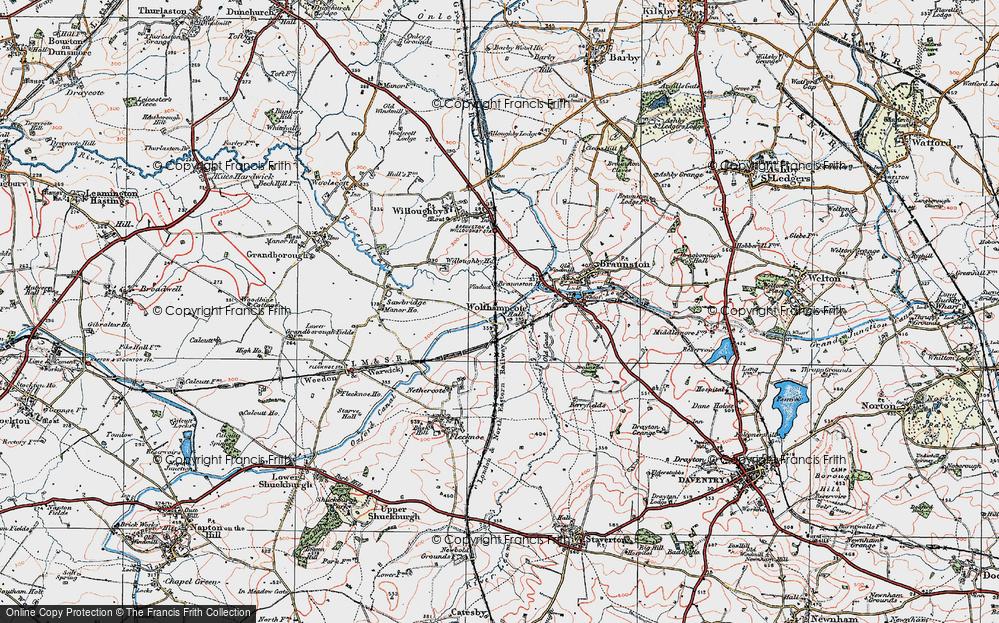 Wolfhampcote, 1919