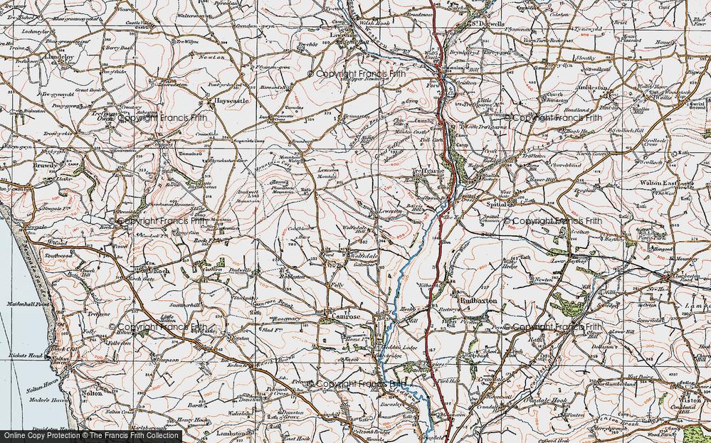 Wolfsdale Hill, 1922