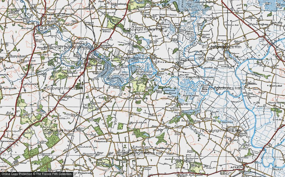 Woodbastwick, 1922