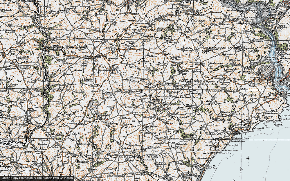 Old Map of Woodford, 1919 in 1919